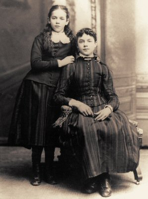 image: Hazelle Fulton (daughter) & Katherine Cox Fulton (wife)