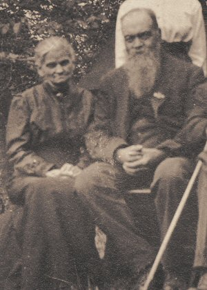 Sarah J. Fulton and Louis K. Edgett, about 1914